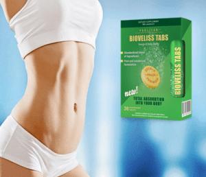Bioveliss Tabs for slimming, összetevői - mellékhatásai?