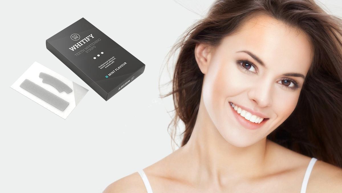 Whitify Strips fehérítő csík, összetevők, hogyan kell használni, hogyan működik , mellékhatások